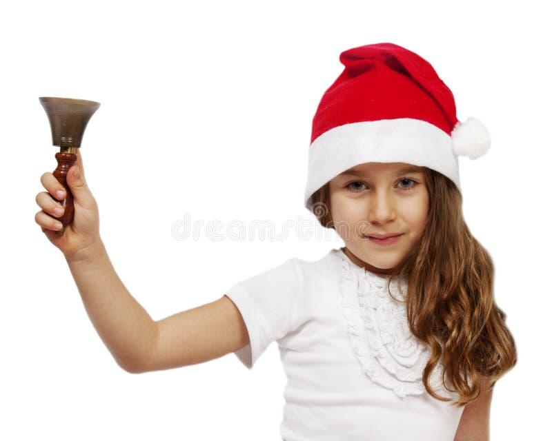 Новый Год девушки стоковое изображение rf