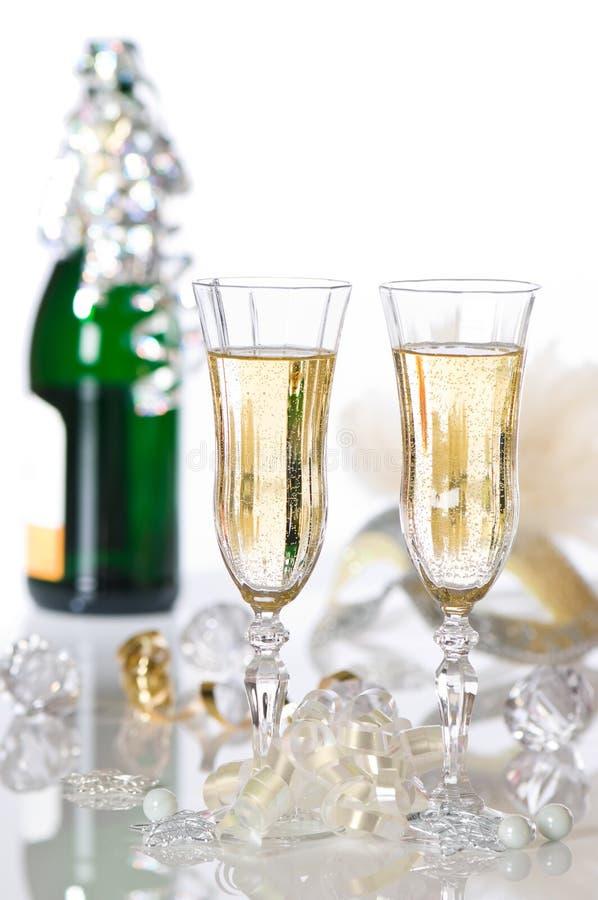 новый год партии стоковые фотографии rf