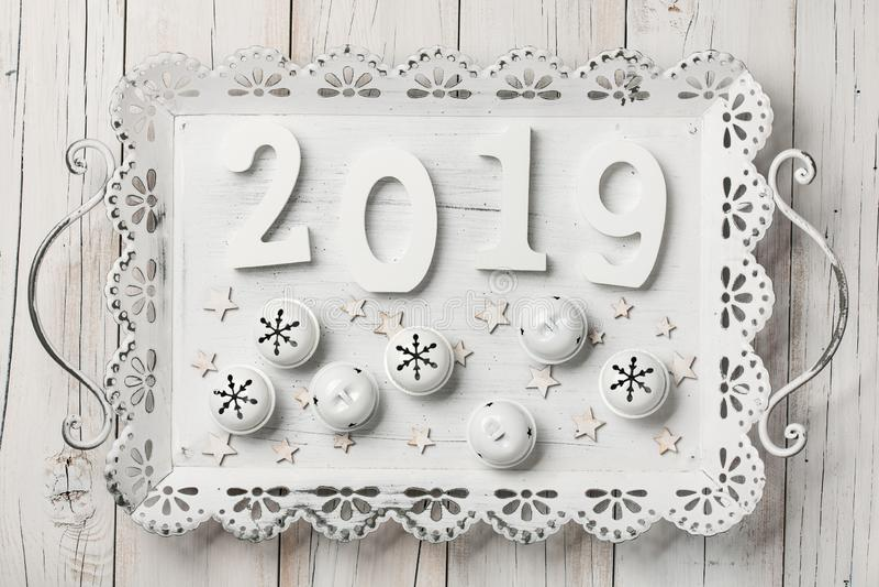 Новый Год предпосылки счастливое стоковое фото rf