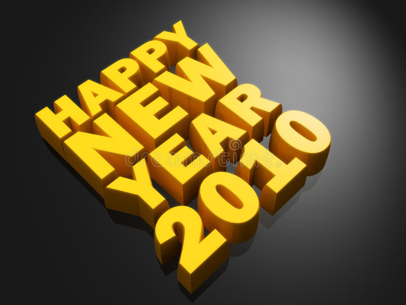 Новый Год принципиальной схемы счастливое бесплатная иллюстрация