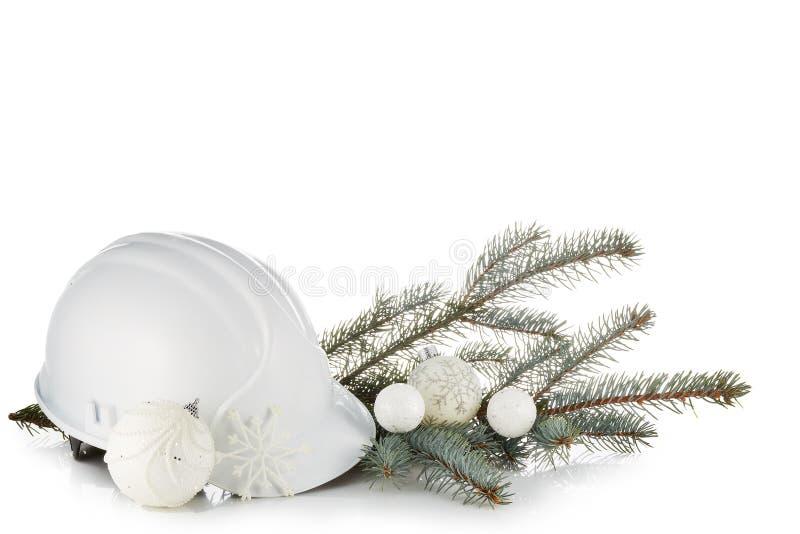 Новый Год рождества горизонтально стоковое фото rf