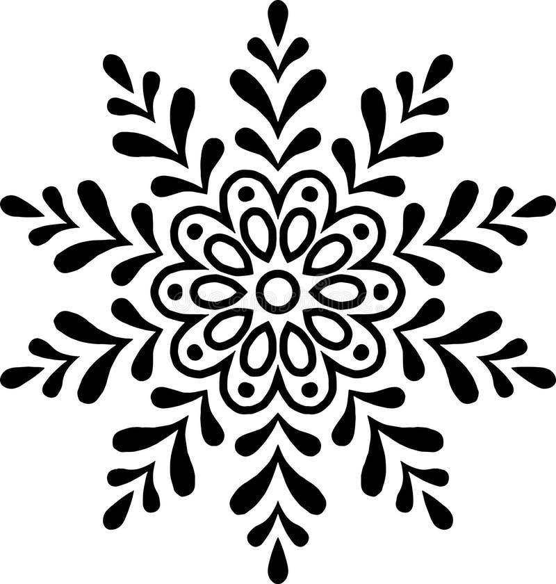 Новый Год рождества снежинки стоковые фото