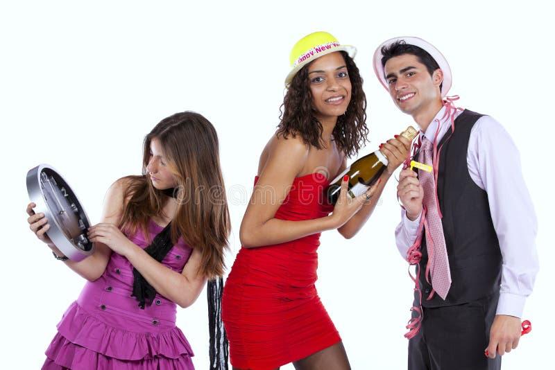 Новый Год торжества стоковое изображение
