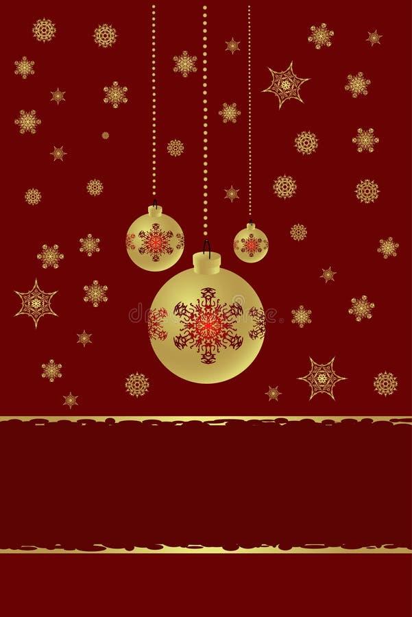 Новый Год украшений рождества иллюстрация штока