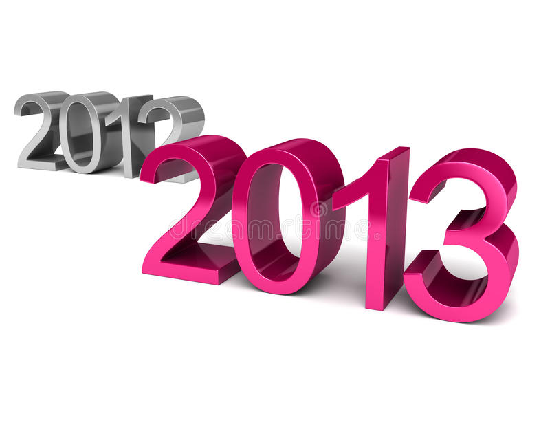 Новый Год 2013 иллюстрация вектора