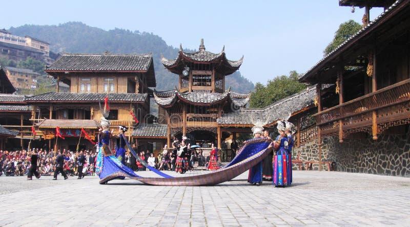 Новый Год hmong стоковая фотография rf