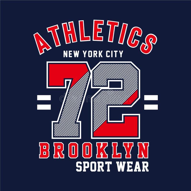 новый городская типография модный спорт, футболка графика бесплатная иллюстрация