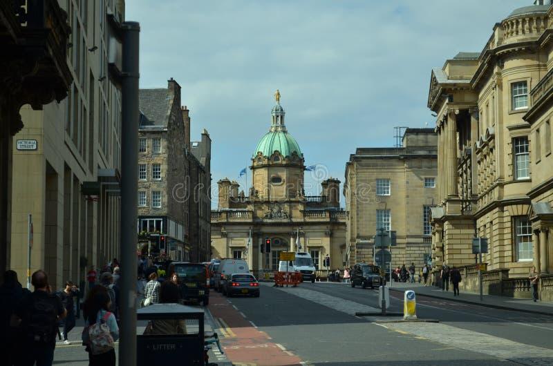 Новый городок Эдинбурга стоковые фотографии rf