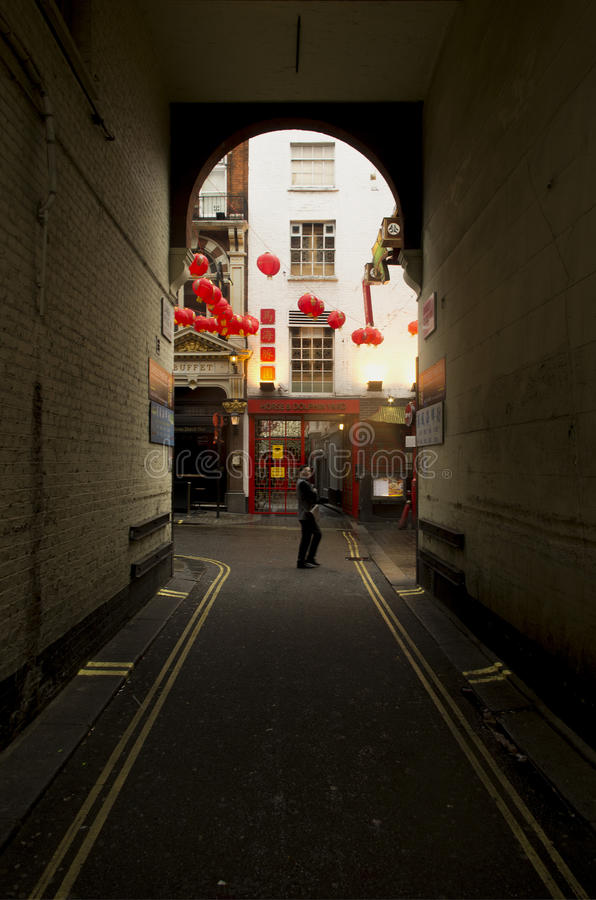 Новый Год китайца Лондона стоковые фото