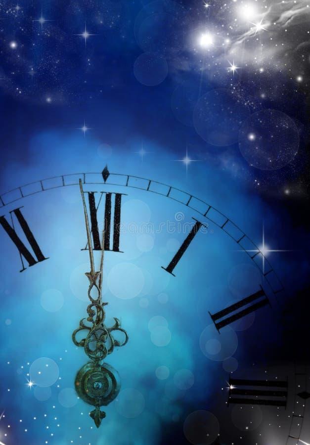 Новый Год на полночи стоковые фото