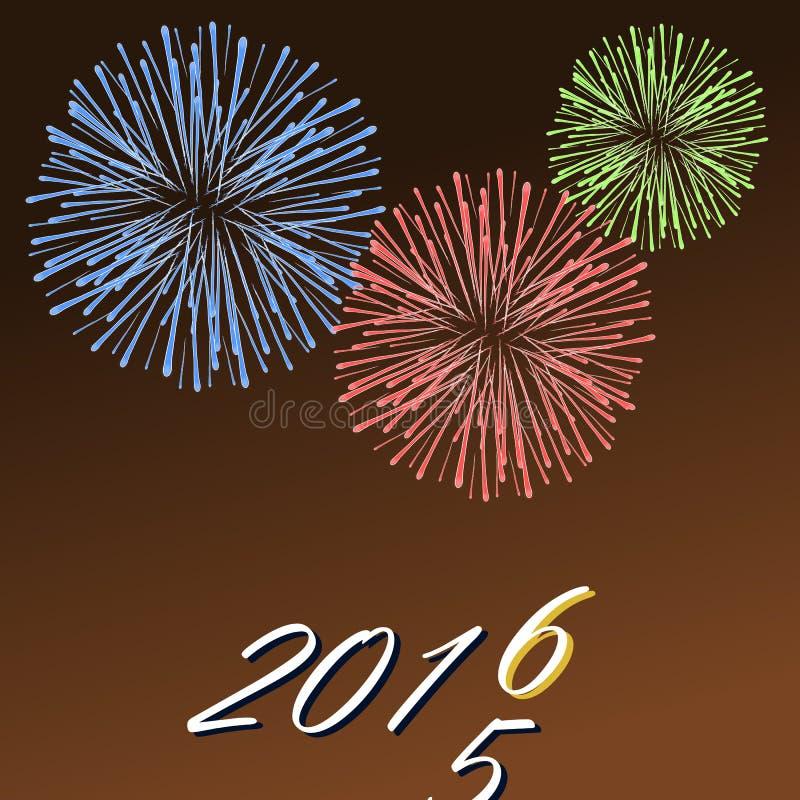 новый год открытки иллюстрация штока
