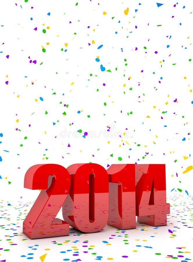 Download Новый Год 2014 иллюстрация штока. иллюстрации насчитывающей сезон - 33726448