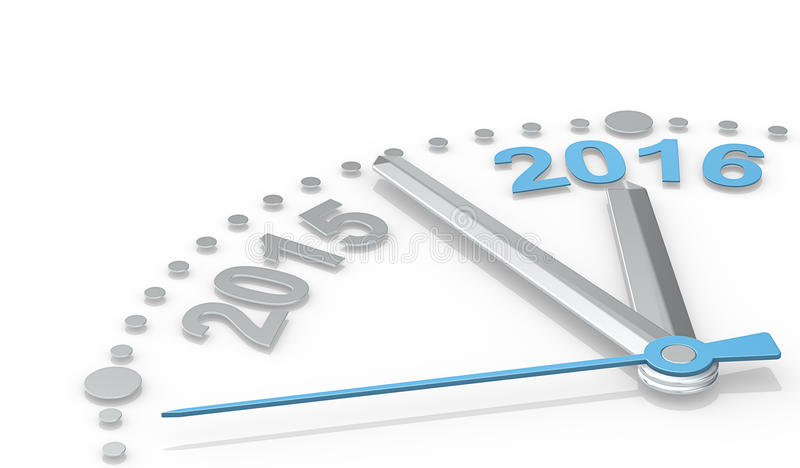 Новый Год 2016 бесплатная иллюстрация