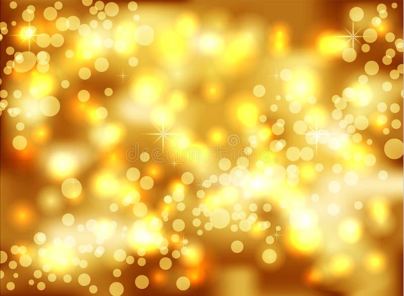 Новый Год 2016, Xmas, запачканная предпосылка иллюстрация вектора