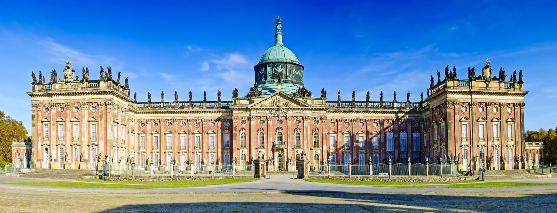 Новый дворец Sanssouci стоковое изображение