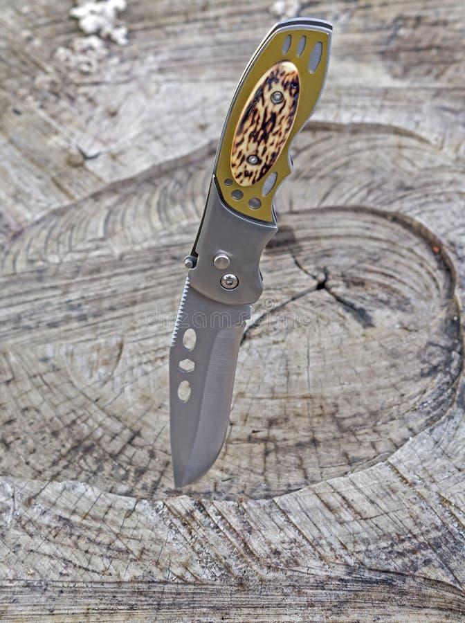 Новый карманный нож стоковая фотография rf