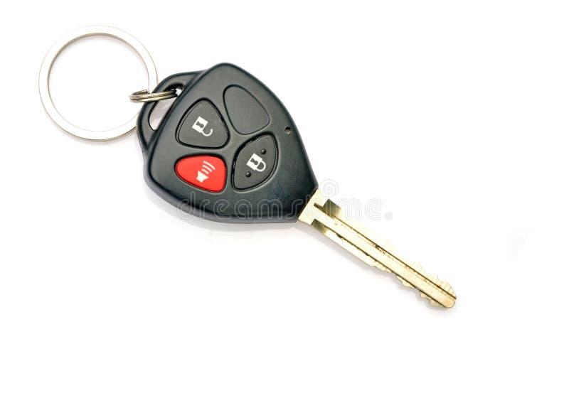 Новый ключ автомобиля стоковые фото