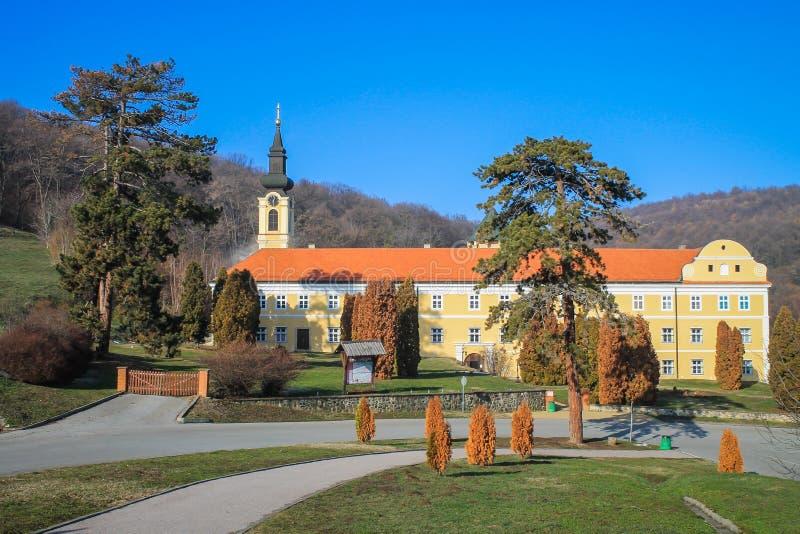 Новый монастырь Chopovo (Manastir Novo Shopovo) стоковое фото