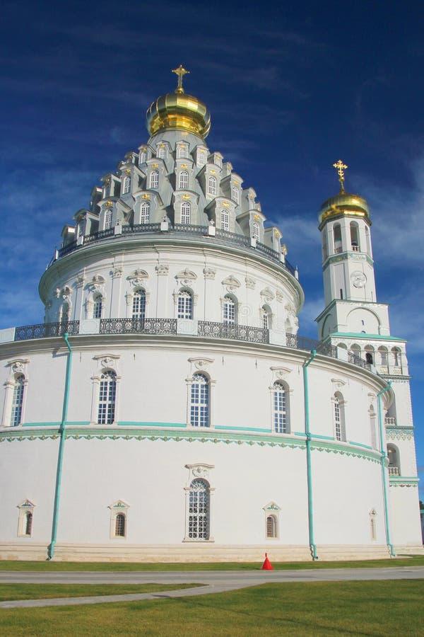 Новый монастырь Jerusalim, Россия стоковая фотография rf