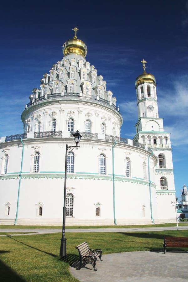 Новый монастырь Jerusalim, Россия стоковое изображение