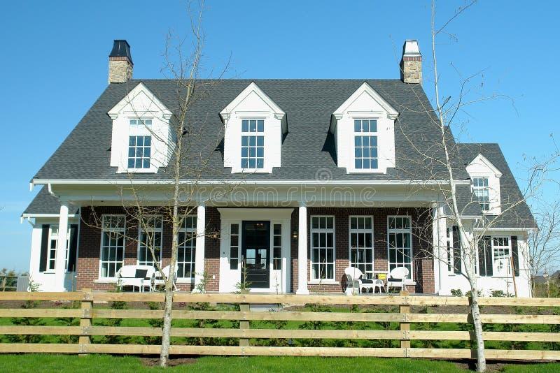 Дом нового дома стоковые фотографии rf