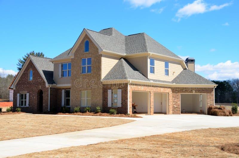 Новый дом, Georgia, США стоковая фотография rf