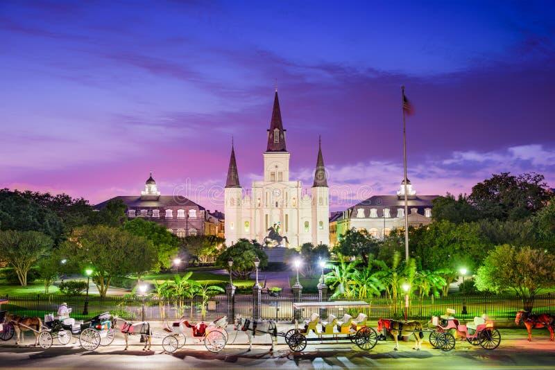 Новый Орлеан Луизиана стоковое фото rf
