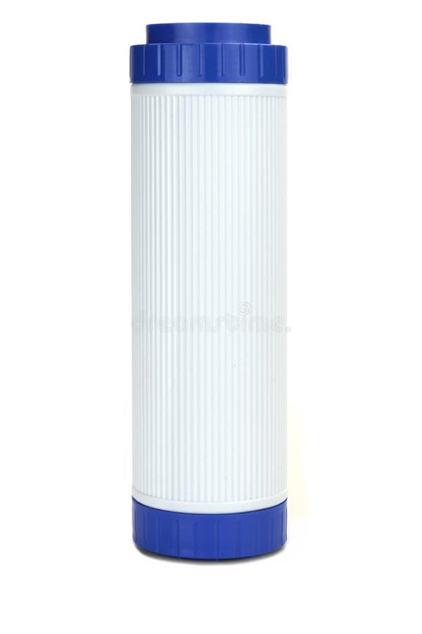 Новый патрон водяного фильтра угля изолированный на белой предпосылке стоковые фото
