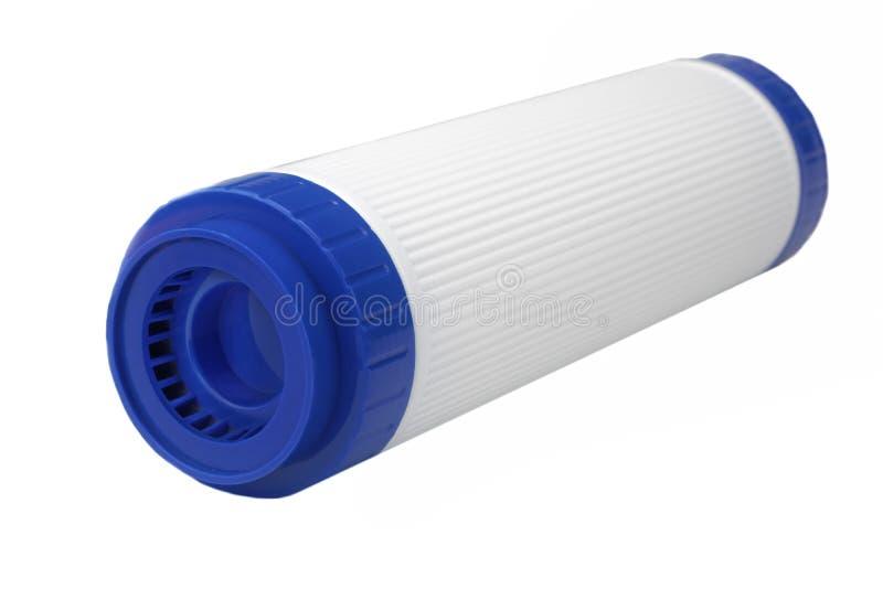 Новый патрон водяного фильтра угля изолированный на белой предпосылке стоковое изображение rf