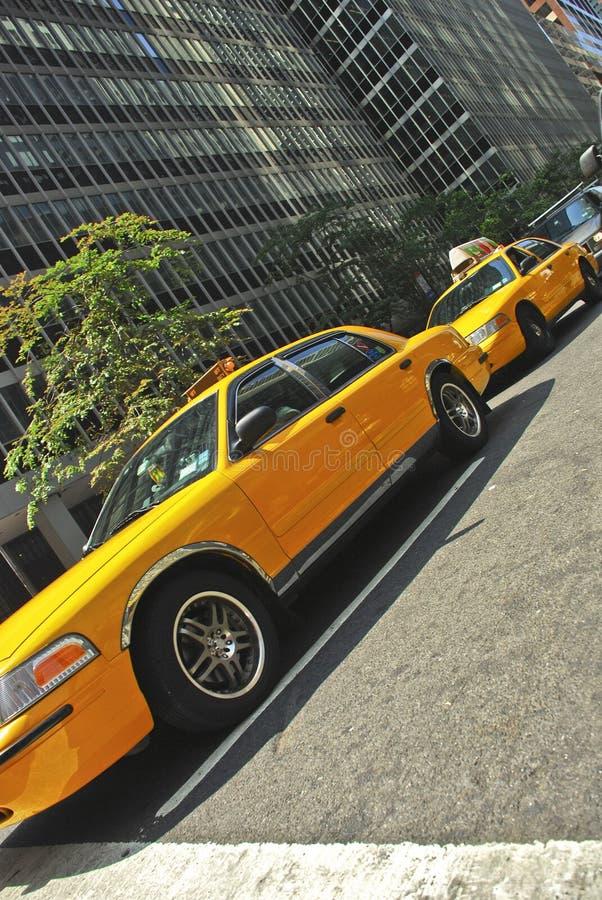новый таксомотор york стоковое изображение