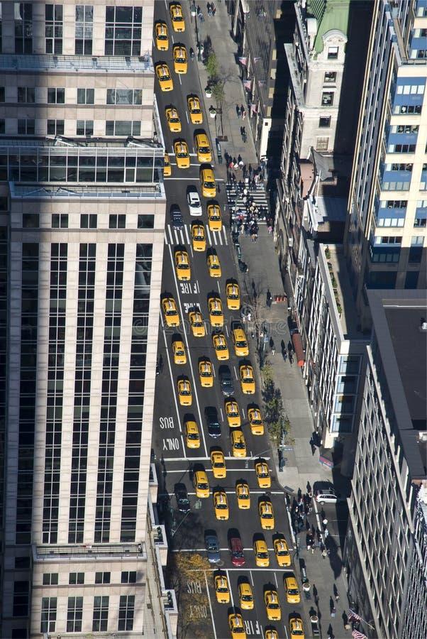 новый таксомотор york стоковое изображение rf