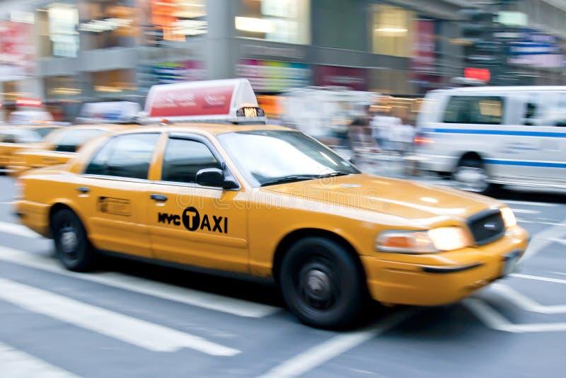 новый таксомотор york стоковая фотография