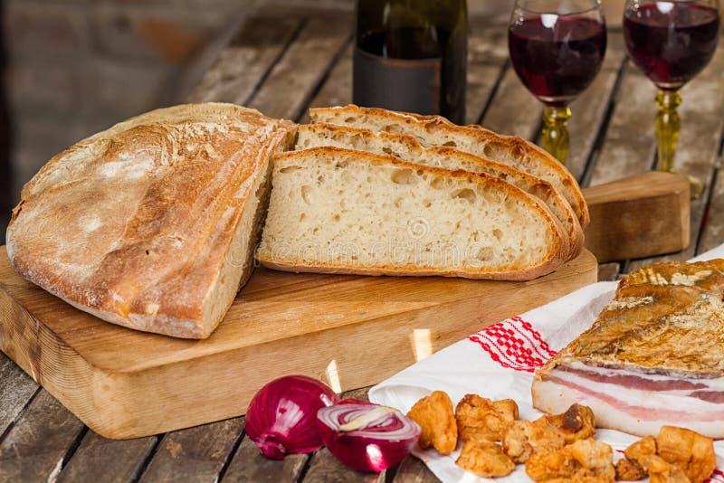 Новый хлеб стоковая фотография rf