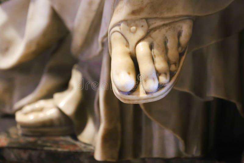 Нога Ватикан, Италия стоковая фотография rf