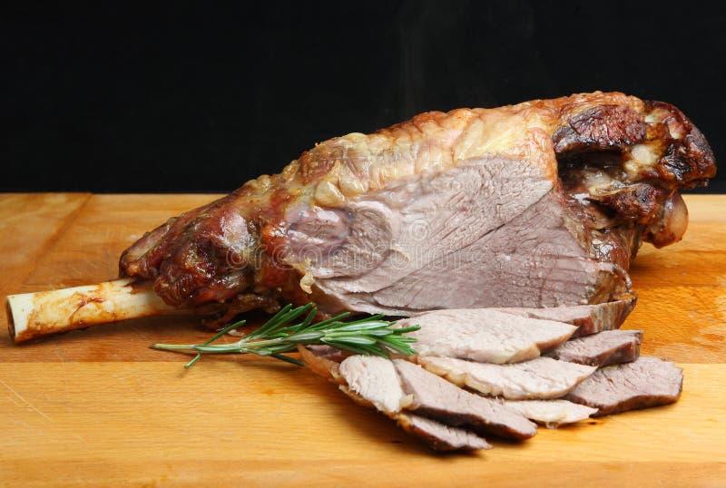 Нога жаркого овечки стоковые изображения