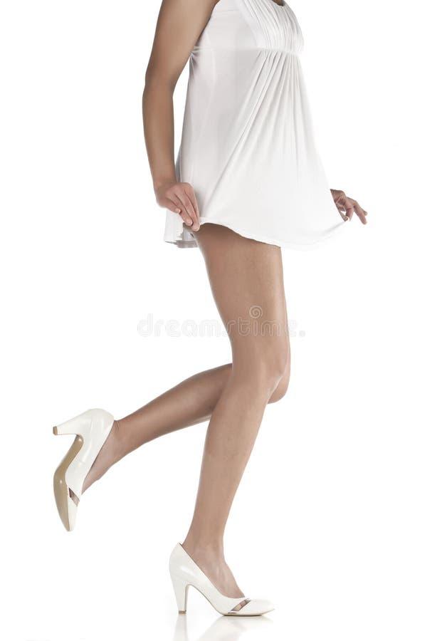 ноги длиной тонкие стоковая фотография