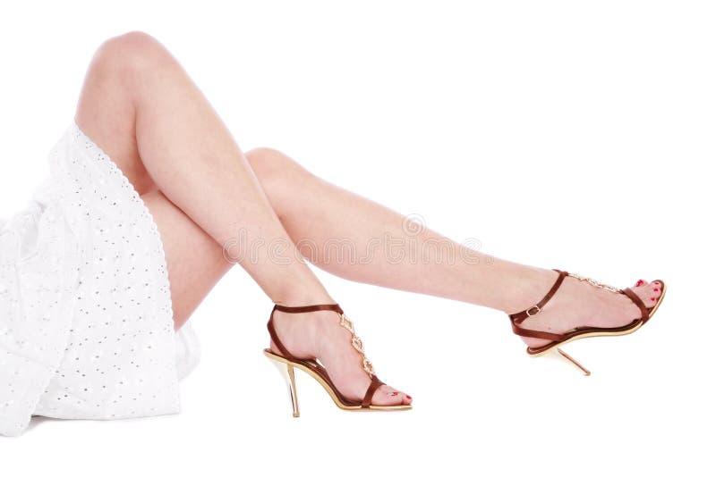 ноги длиной стоковая фотография rf