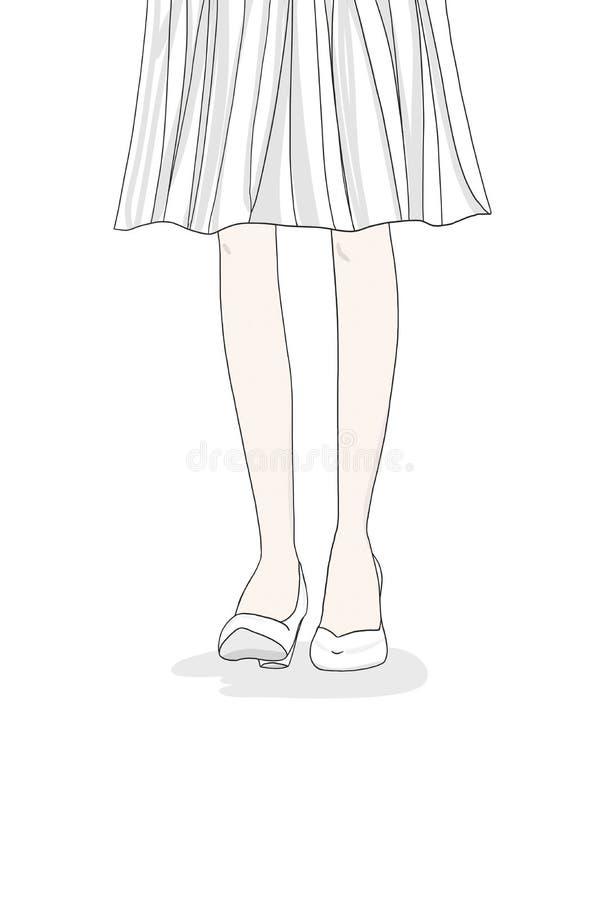 Ноги женщины бесплатная иллюстрация