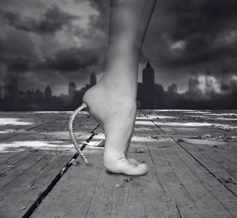 Ноги женщины фантазии стоковая фотография