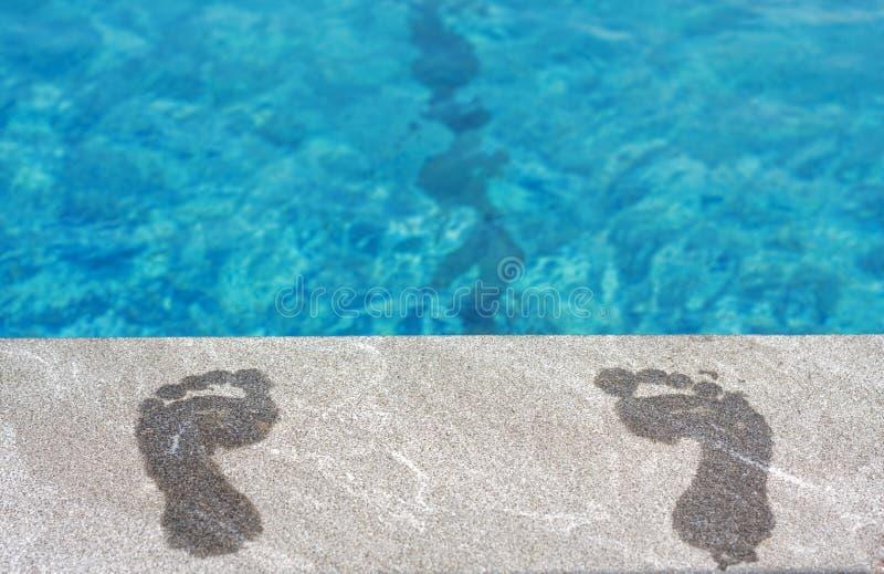 ноги заплывания бассеина стоковые фото