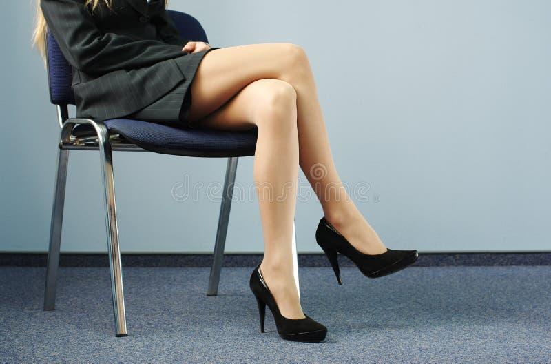 ноги коммерсантки стоковые изображения