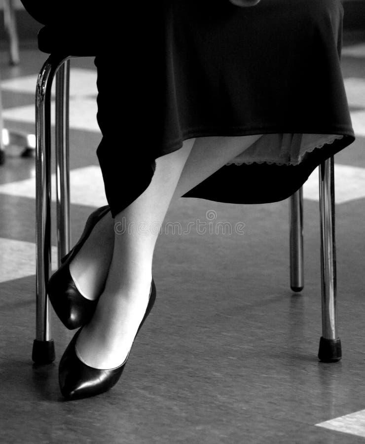 ноги способа 50s ретро стоковые изображения