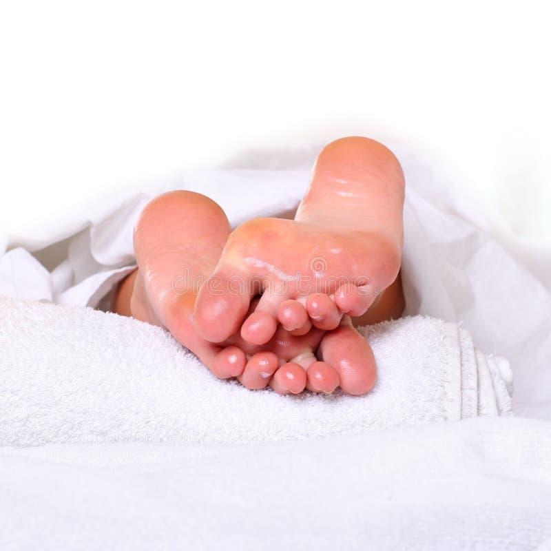 ноги спы Стоковое Фото