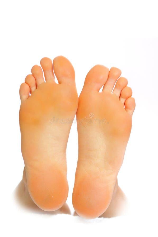 ноги счастливого I стоковая фотография