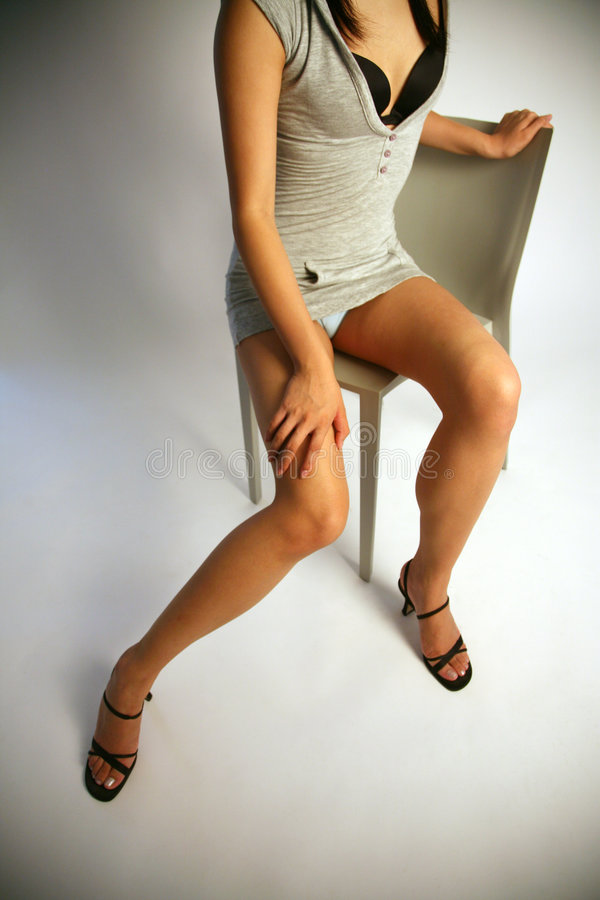 ноги s девушки сексуальные стоковые фото