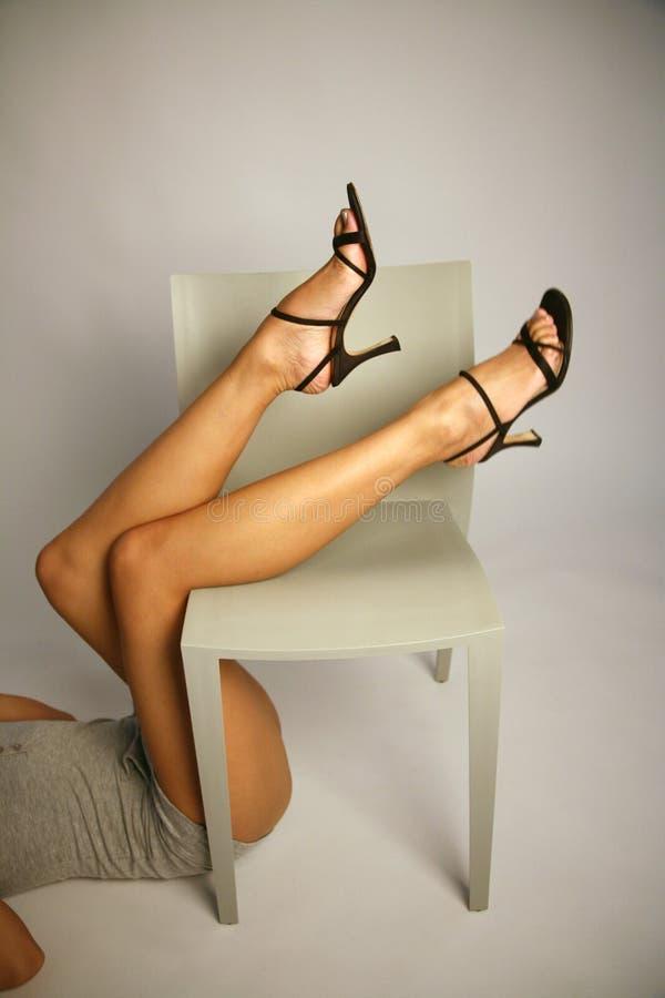 ноги s девушки сексуальные стоковое фото rf