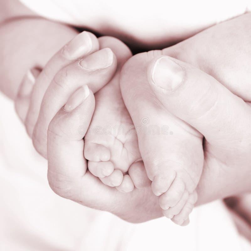 ноги s младенца стоковые фотографии rf