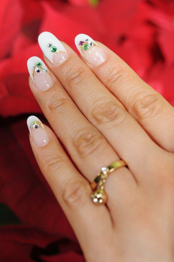 ногти стоковая фотография rf