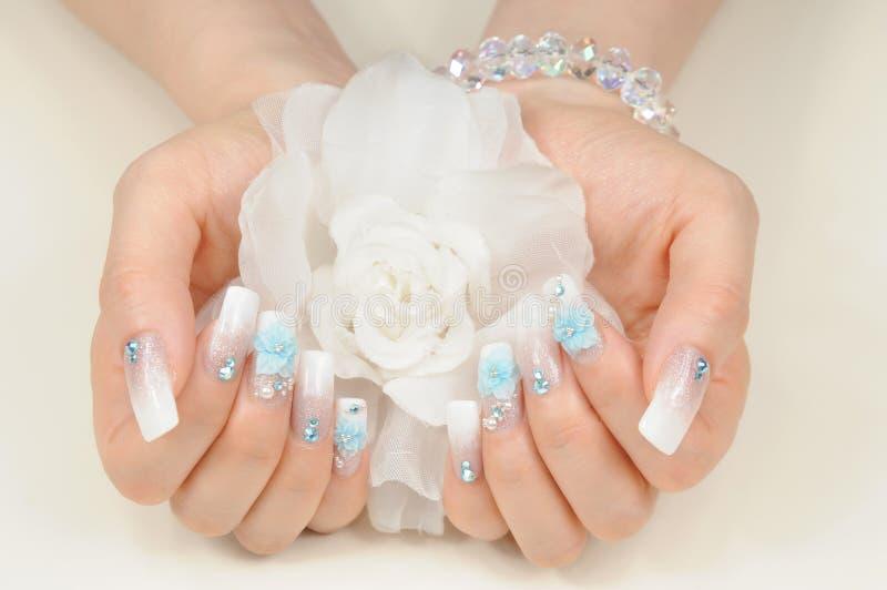 ногти стоковая фотография