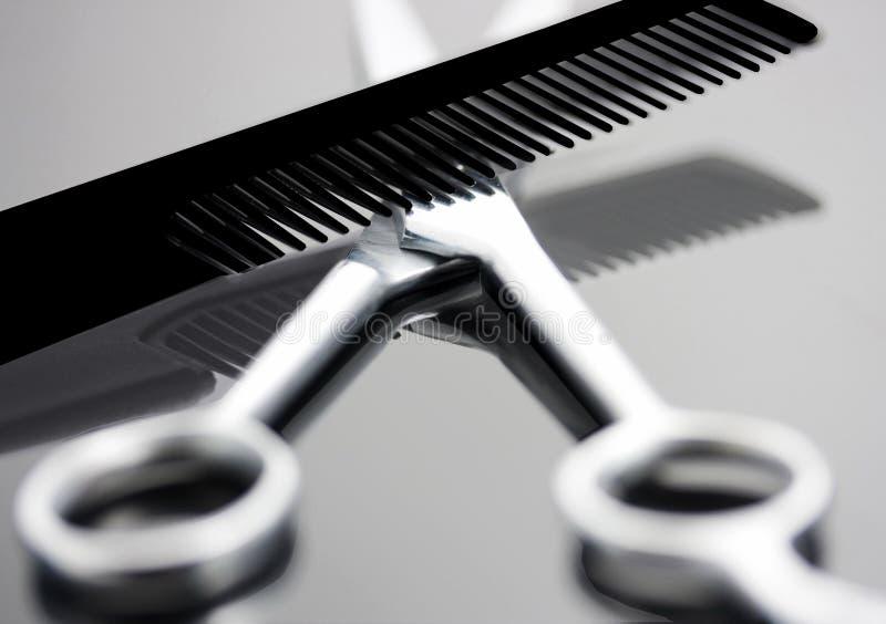 ножницы гребня стоковые изображения rf